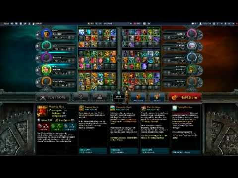 HoN All Heroes/Gold Hack WORKING (12/11/2011)