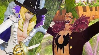 One Piece Pirate Warriors 4 - Character Trailers Update #9 (Bartolomeo, Cavendish +more)
