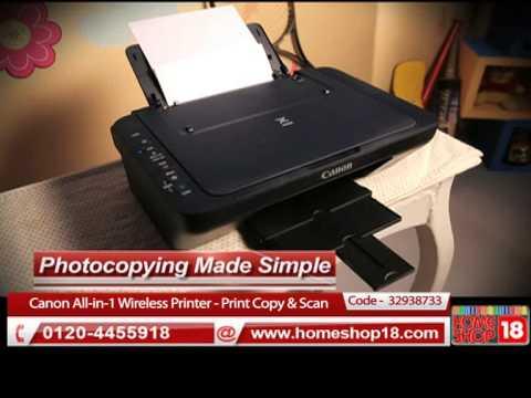 Pixma Cableless setup | FunnyCat.TV