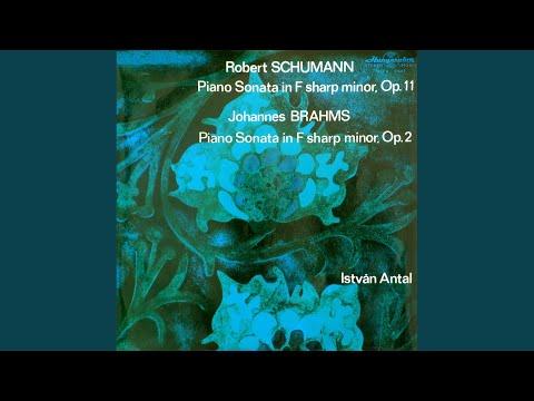 Sonata For Piano In F Sharp Minor, Op. 2 I. Allegro Non Troppo, Ma Energico