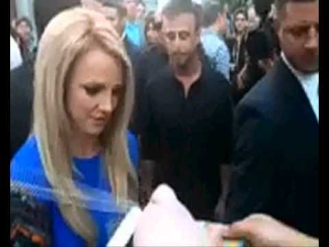 Britney at Grauman's Chinese Theatre