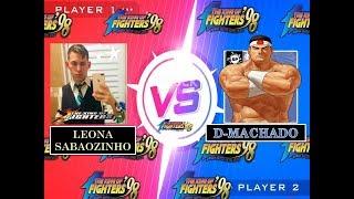 KOF 98 - LEONA SABAOZINHO vs D-MACHADO ( EMULADOR YZKOF/FT20 ONLINE AO VIVO)