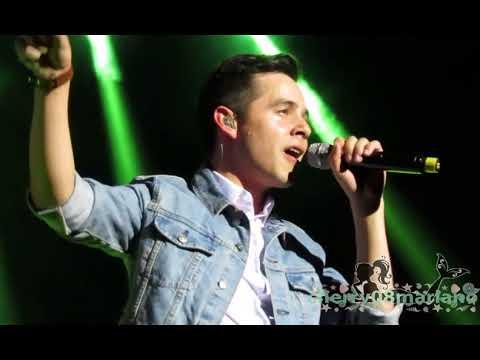 NUMB - David Archuleta live in Manila [HD]