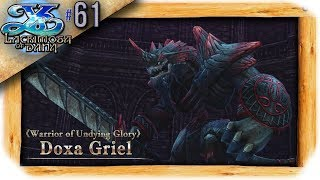Ys VIII: Lacrimosa of Dana Playthrough Ep 61: Purifying The Valley of Kings