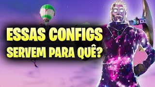 The CONFIGS. WHAT MANY DO NOT KNOW! -Fortnite