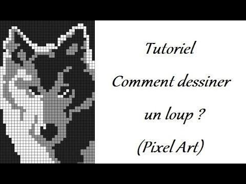 Tutoriel Comment Dessiner Un Loup Pixel Art