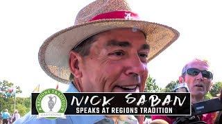 Nick Saban says 'nobody needs to worry about me' following surgery