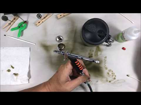 Airbrush Review and M10 Paint