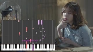 IU - My Old Story (Piano)