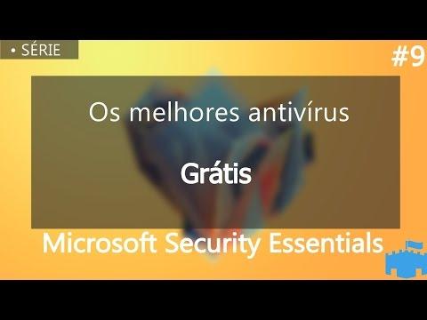 Os Melhores Antivírus Grátis #9 Microsoft Security Essentials