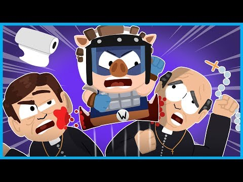 SOUTH PARK: THE FRACTURED BUT WHOLE GAMEPLAY - PART 2 w/ I AM WILDCAT - BEATING UP PEDO PRIESTS! |