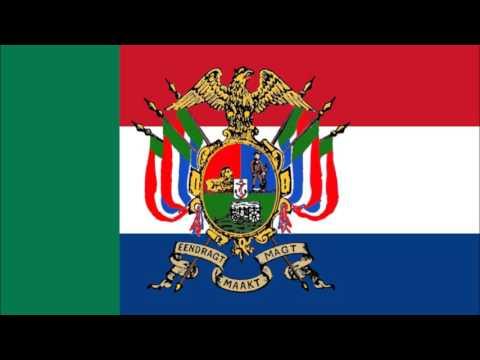 Anthem Of Transvaal/Volkslied Van Transvaal - Zuid-Afrikaansche Republiek (South African Republic)