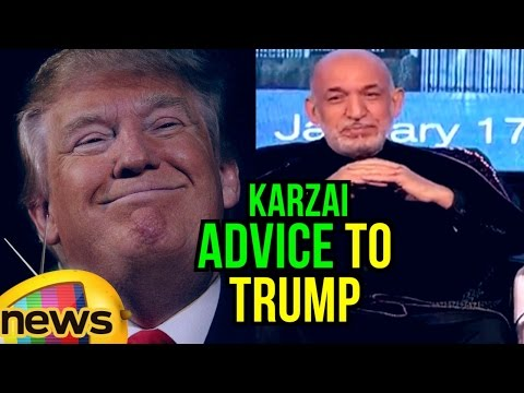 Afghan President karzai Advice to Donald John Trump | New Delhi | Mango News