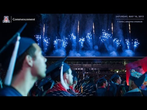 University of Arizona Commencement 2015