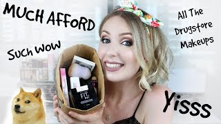 *Mostly* Drugstore Makeup Haul WITH REVIEWS! #QualityHaul