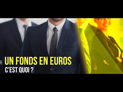 Le fonds en euros, c'est quoi ?