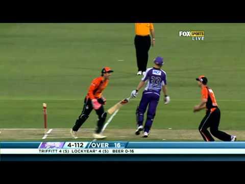 Perth Scorchers v Hobart Hurricanes - Match Highlights