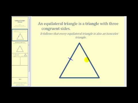 Proof:  The Equilateral Triangle Theorem