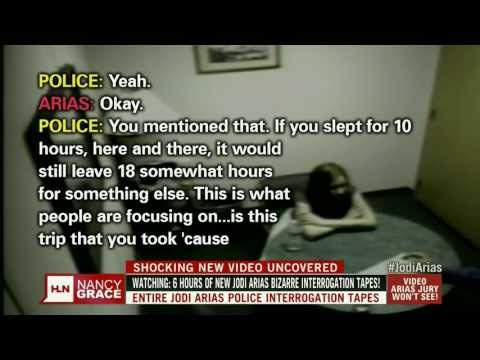 Nancy Grace Jodi Arias Police Interrogation Tapes (First aired 04-01-13) Pt1 of 2