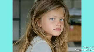 Самая красивая девочка в мире 12 лет спустя. Вы удивитесь
