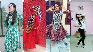 हरियाणवी लड़कियों का गजब डांस Haryanvi Punjabi girl dance tiktok video | best tiktok musically dance