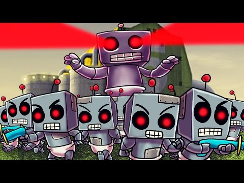 Minecraft | Who's Your Daddy? Baby Robot Army Invades the House! (GIANT ROBOT BABY) - Видео из Майнкрафт (Minecraft)