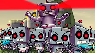 Minecraft | Who's Your Daddy? Baby Robot Army Invades the House! (GIANT ROBOT BABY)