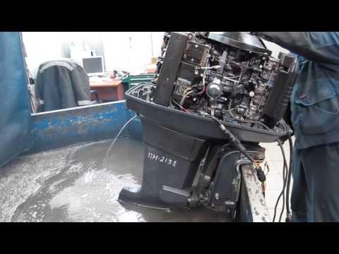 Мотор лодочный Yamaha 90 AETO, б/у 1998 г.в.