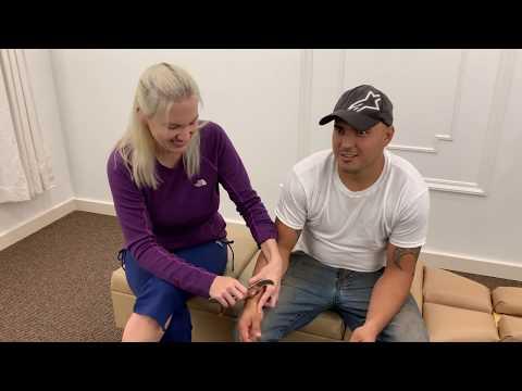 Wrist Injury Chiropractic Adjustment and Treatment