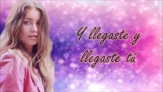 Sofía Reyes ft. Reykon - Llegaste tú (letra)