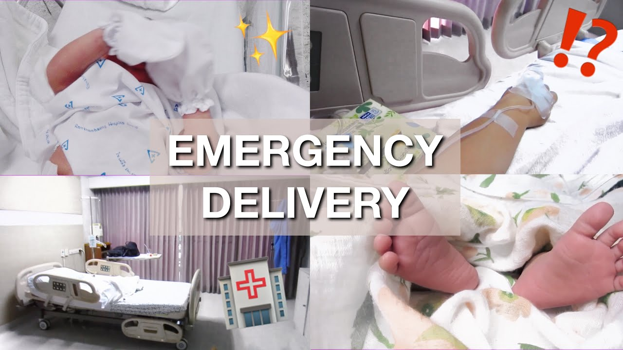 EMERGENCY C-SECTION BIRTH VLOG | BABY ANAYA | Pakistani Mom In Bangkok