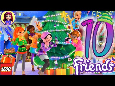 Let's Open Door 10 - Lego Friends Advent Calendar 2019