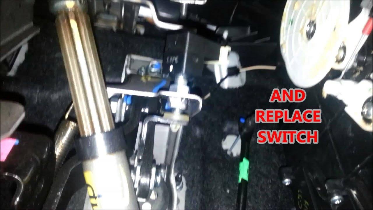 hyundai brake switch replacement  YouTube