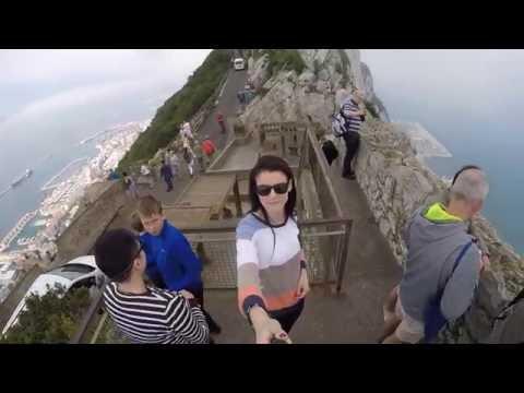 Visiting Gibraltar, Gibraltar Rock [GoPro Hero4]