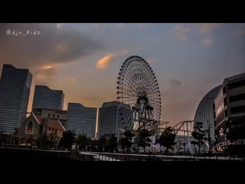 a day in yokohama (timelapse) (J.D Beatz - without you)