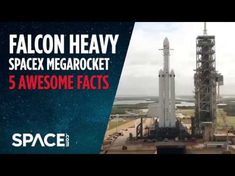 SpaceX Falcon Heavy Megarocket - 5 Awesome Facts