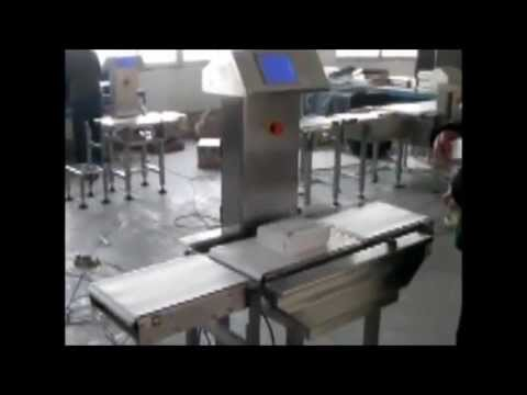 VinSyst On-Line CheckWeigher for Pouches, Boxes, Food, Pharma Industries with Drop Down Rejector