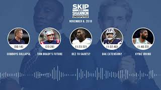 UNDISPUTED Audio Podcast (11.06.18) with Skip Bayless, Shannon Sharpe & Jenny Taft | UNDISPUTED