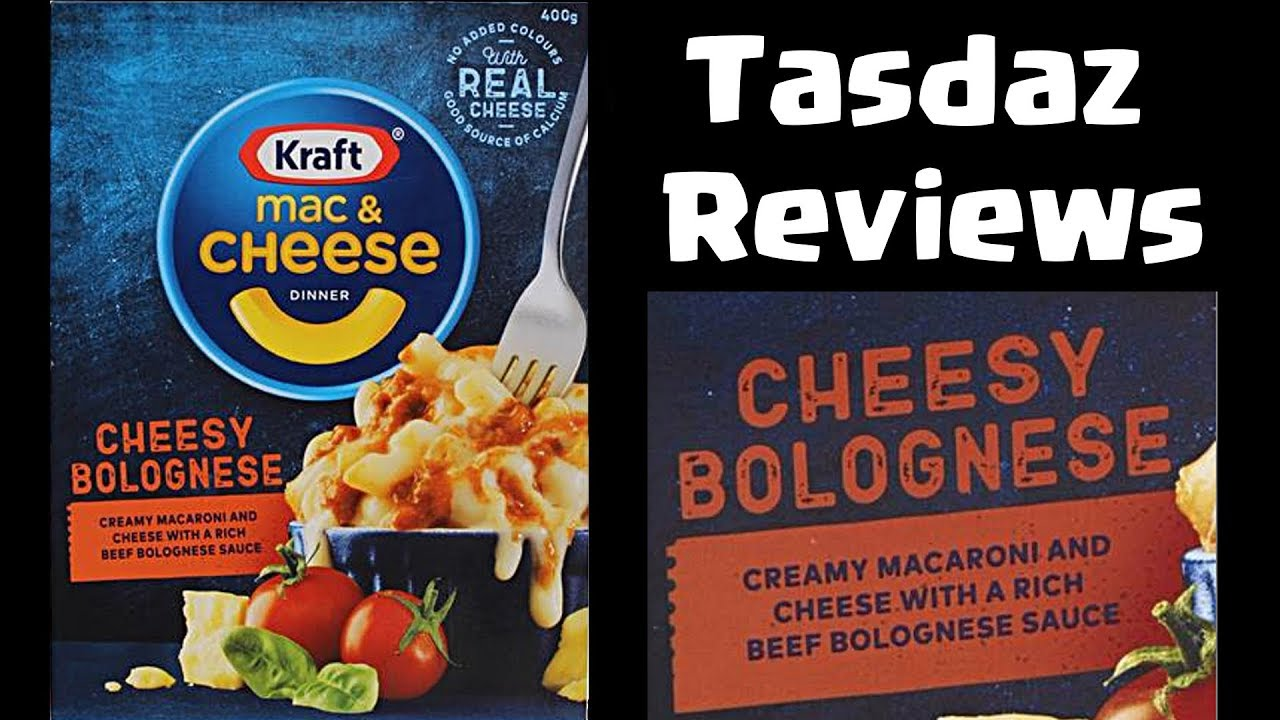 Kraft Mac Cheese Cheesy Bolognese Frozen Food Reviews Downunder Youtube