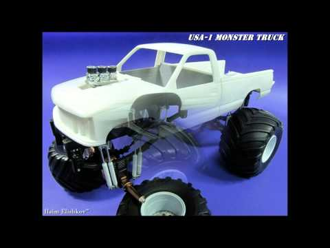 USA 1 Monster truck by AMT
