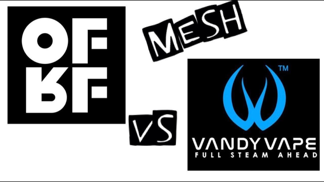 Confronto Mesh Vandy Vape vs OFRF su Profile By Wotofo