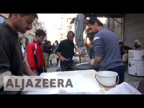 Syria's war: UN warns of food running out