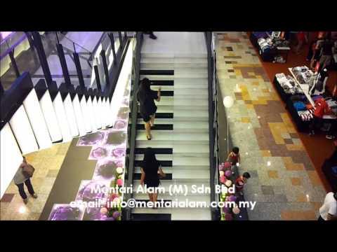 Grand Musical Stairs @ Berjaya Times Square, Malaysia
