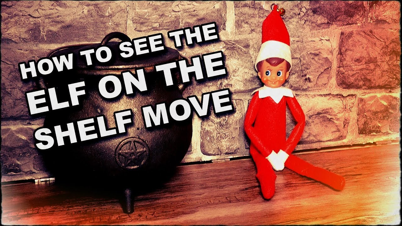 Elf On The Shelf Move