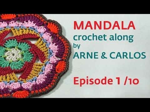 How to Crochet a Mandala. Part 1 by ARNE & CARLOS