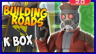 Disney Infinity 2 Toy Box Adventures! How To Make Roads (hd)