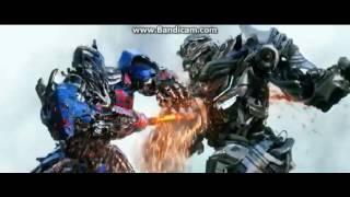 Transformers 4 - Optimus Prime Yakalanış sahnesi