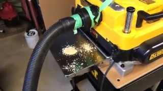 Dewalt Dw735 Dust Collection Setup