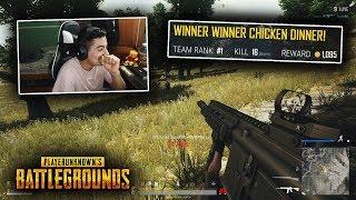 16 KILL WIN in PUBG Xbox! (Xbox One X)