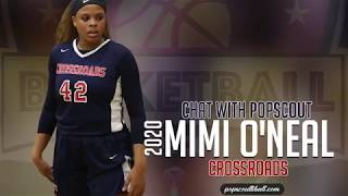 MIMI ONEAL is a WALKING DOUBLE-DOUBLE !! Daughter of NBA great SHAQ can play some ball.